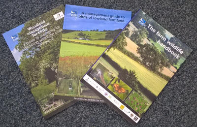 image of RSPB Conservation books