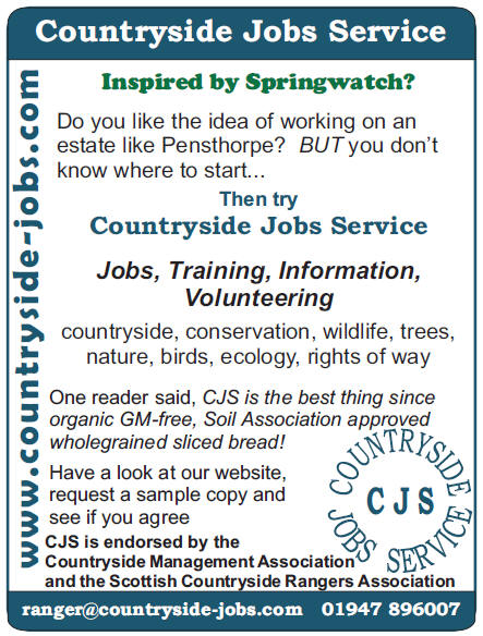CJS Training Directory, sample adverts