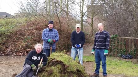 The Conservation Volunteers in Tottenham (Reid Aiton)