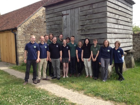 Wildlife Skills trainees at their end of traineeship celebration event  June 2015 (R Janes)