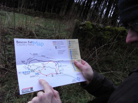 Site guides and maps can be interpretive too © Lisa Key