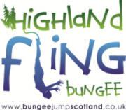Logo: Highland Fling Bungee