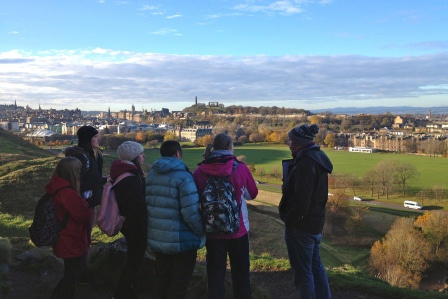 Holyrood Park, Edinburgh (University of Edinburgh)