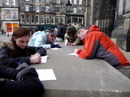 Urban outdoor learning on the Royal Mile, Edinburgh (University of Edinburgh)