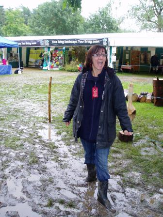 Kent County Show in monsoon conditions! © Alison Riggs