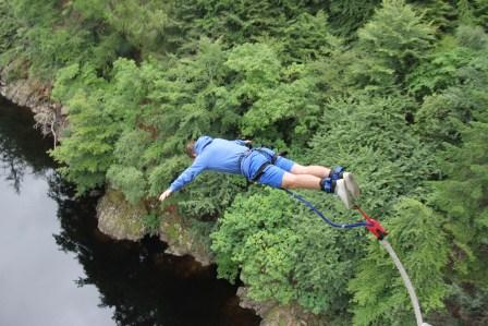 Killiecrankie bungee jumper (Highland Fling Bungee)