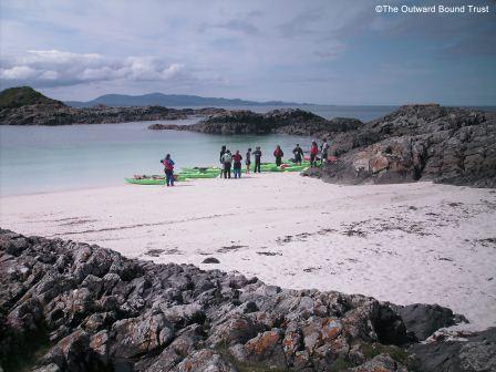 Immersed in nature at Port nam Murrach, Rhu Peninsular