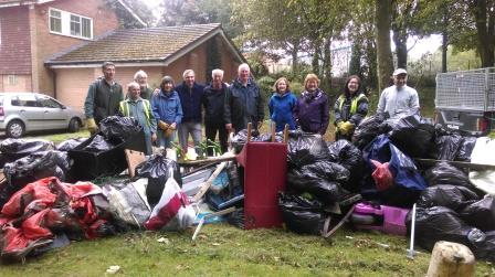 Friends Group monthly two hour litter pick  (Dudley Metropolitan Borough Council)