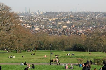 Haringey Alexandra Park - Urban and suburban respondents value  parks and green spaces more highly than rural residents  (Fields in Trust)