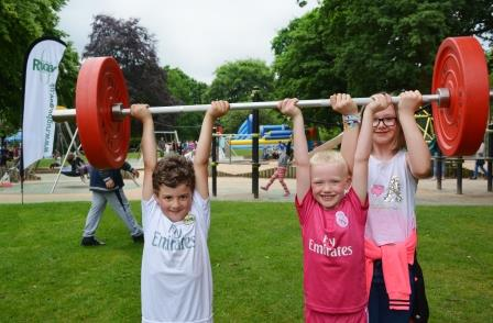 Parks are a great place to exercise (Rugby Borough Council)