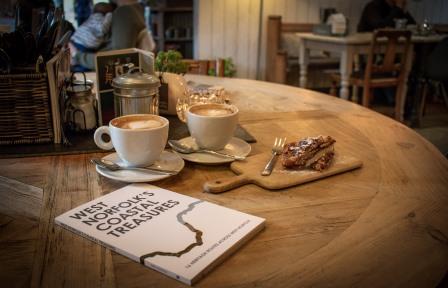 Cake, Coffee and Coastal Treasures (Sam Holden)