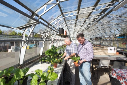 Parks provide a range of opportunities to learn new skills, Brockwell  Park Community Greenhouse, London Borough of Lambeth  (copyright Jeff Gilbert)