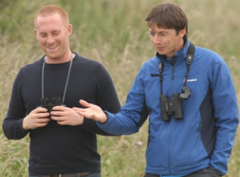 Showcasing the work of the RSPB through the media  (Grahame Madge)
