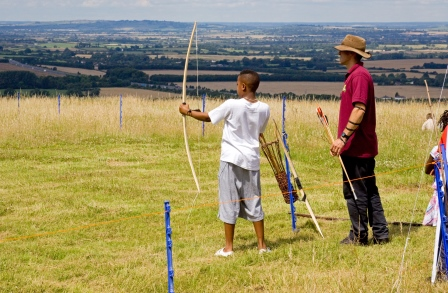Keeping active supports good mental health at all ages ©Natural England