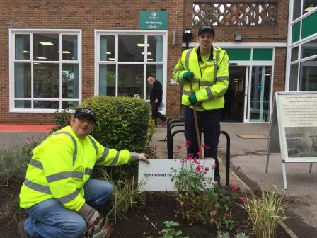 The Surrey Choices Growth Team improving local community space  (Surrey Choices)