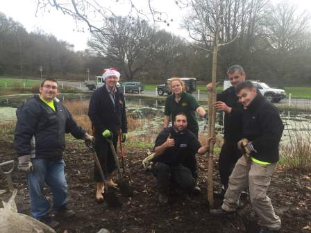 Gaining valuable work experience with local Landscapers  (Surrey Choices)
