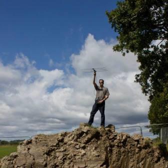 Radio tracking Nathusius pipistrelle near Cardiff  (Laragh Níc Gabhann)