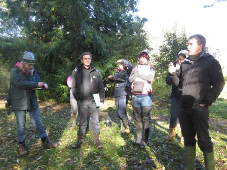Richard leading a workshop on bats and trees (Sandie Sowler)