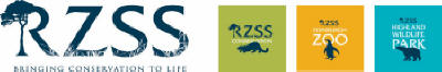 logo: RZSS Rotal Zoological Society of Scotland