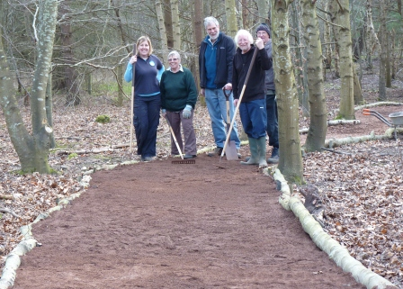 Volunteers can easily deliver practical improvements to sites with the right training (East Lothian Council)