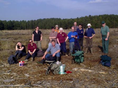 Practical volunteer group (P Bowyer)