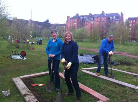 Working at Children's Wood in Glasgow (TCV)