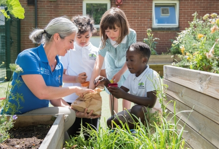 Schools on reserves and Schools Outreach are also areas you can  get involved in (Eleanor Bentall rspb-images.com)