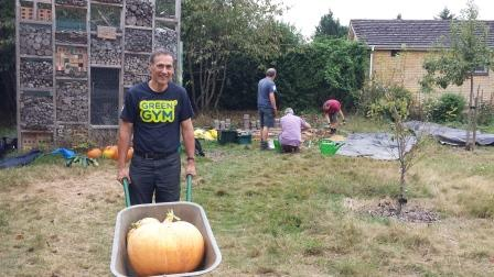 Regular volunteer David Ray at Cassiobury Green Gym (David Ray)