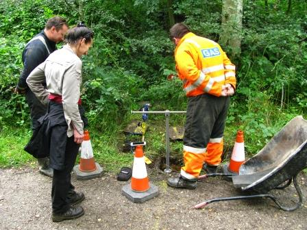 Contractor negotiation Biddulph Valley Way  (Cheshire East Council Countryside Ranger Service)