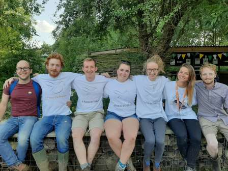 A Focus on Nature volunteers at BirdFair 2019 (A Focus on Nature)