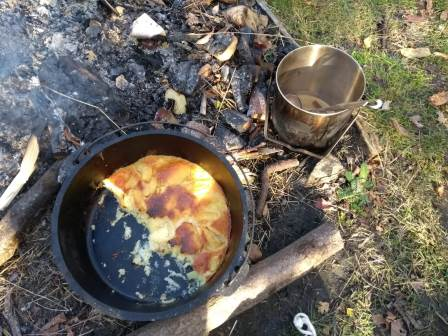 Cooking on an open fire (Earth Trust)