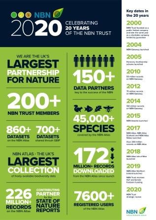 Image: NBN achievements from 20 years