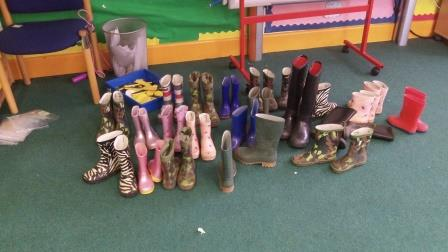 children's wellington boots (Nature Premium)