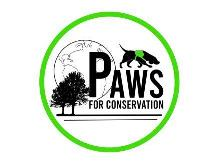 Logo: Paws for Conservation