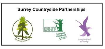 Logo: Surrey Countryside Partnerships