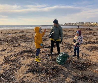 TCV Glasgow Toon Beach Scotland Counts (Kirsty Crawford)