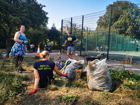 TCV Waltham Forest Great British September Clean Up (Keep Britain Tidy)