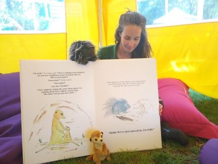 Laura previously worked for ZSL London Zoo as a wildlife communicator and illustrator (Laura Cuppage)