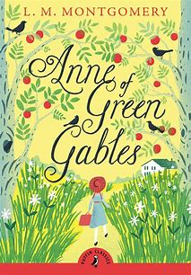 Front cover of Anne of Green Gables book