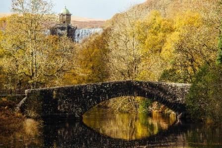 A very special place: Pen y Garreg dam, one of the five (and a half) in Elan Valley (Elan Links)