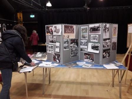 One of our Local History Day exhibitions 2019 (Elan Links)