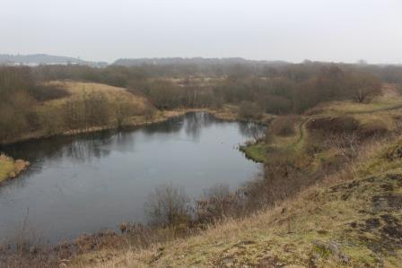 Former iron and steel works Kirkless Nature Reserve, wigan by Alan Wright