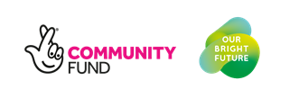 Logo: Community Funded Our Bright Future