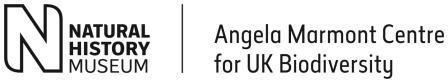Logo: Natural History Museum - Angela Marmont Centre for UK Biodiversity