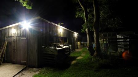 Lighting on a barn Before (NYMNPA)