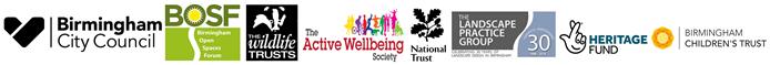 Logo: Naturally Birmingham partnership logo