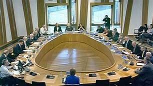 A Scottish Parliament Committee room (SCRA)