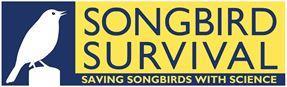 Logo: Songbird Survival - saving songbirds with science