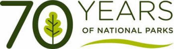logo: CNP - 70yearsofnationalparks