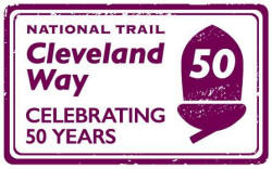 Logo: Cleveland Way National Trail